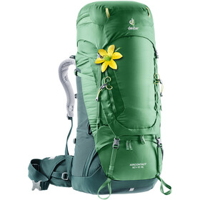 Deuter Aircontact 60 + 10 SL Mochila Mujer, leaf-forest